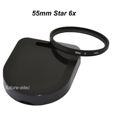 Star Filter 55mm 55 mm 6 6x Burst Twinkle Filters For Nikon D7200 D7100 D7000 D5500 D5300 D5200 D5100 D3300 D3200 D3100 SLR Lens