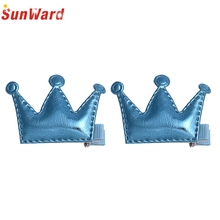 SunWard Good Deal New Lovely kids Girl Headband 2PCS Hair Clips Girls Christmas Party Princess Hair Accessories Gift*15