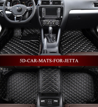 Car floor mats for Volkswagen Volkswagen Jetta GLI PZEV Hybrid Sedan 2006-2017 custom fit all weather carpet floor foot mats