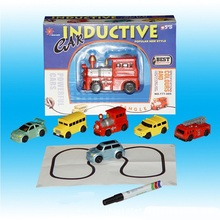 Shineheng Hot Sale 1 Piece Magic Toy Truck Inductive Car Magia Excavator Tank Construction Cars Truck(China)