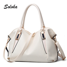 New Arrival Women Handbags Fashion PU Leather Women Big Shoulder Bags Zipper Soft Ladies Bag High Quality Valentine Tote Bags