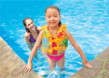 Intex Inflatable Pool Float Water Children Life Buoy Arm Swimming Ring For Baby Kids Swimming Pool Inflatable Toy Life Jackets