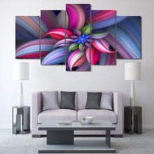HD Printed Colorful abstract beautiful flower Group Painting  room decor print poster picture canvas Free shipping/F020