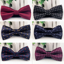 Mantieqingway Men's Bowknot Bow Tie Brand Accessories Popular Mens Business Neckties Bowties Classic Polyester Male Bow Tie Gift