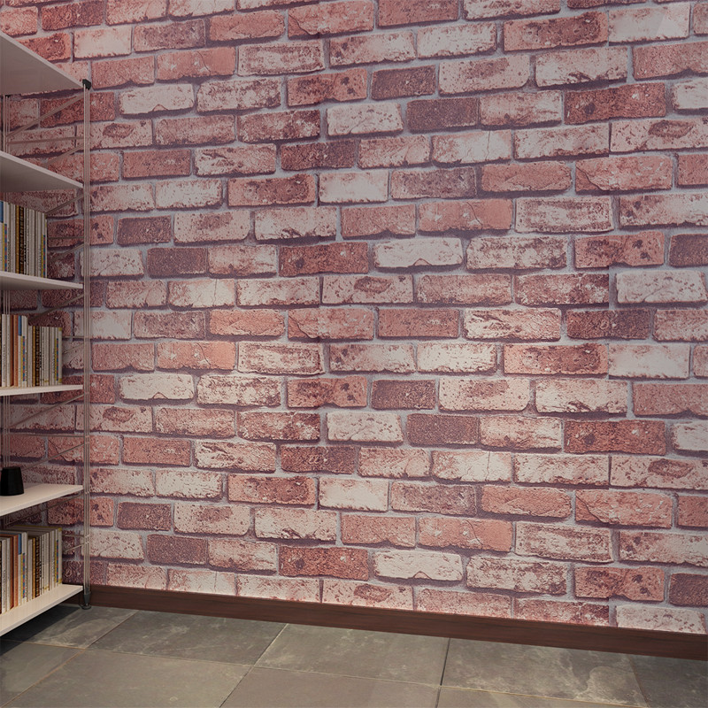 Vintage EMbossed Brick Wallpaper for walls 3 D in rolls Waterproof PVC Wall papers Home Decor Living Room QZ0125 papel de parede<br>