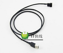 USB A Male to 3Pin Socket 5V Power Cable Lead For Laptop Router Cooling Fan System