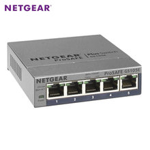 NETGEAR GS105E 5-Port Gigabit Web Managed Switch 10/100/1000Mbps Metal Case Qos Vlan(China)