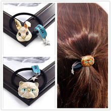 Cute Fashion Animal Elastic Hair Band Rubber Bands Ties Headdress Ring Rope Accessories For Women Girl Scrunchie Ponytail Holder