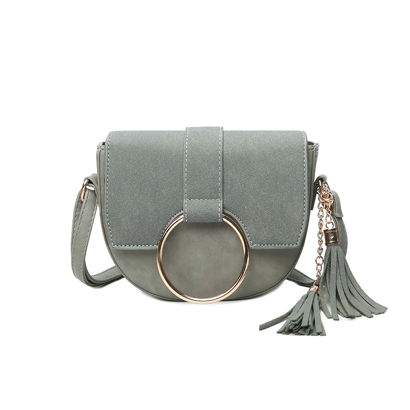Women Small  Shoulder Bags 2017 New Fashion Mini Messenger Bags High Quality Leather Cheap Tassels Mini Cross Body Bag <br>