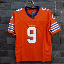 TIM VAN STEENBERGE Adam Sandler Bobby Boucher O Waterboy Mud Dogs Futebol Jersey-Laranja(China)