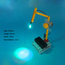 Small table lamp Robot  Remote control play  DIY Robot   Popular Science model of scientific experiments for schoolchildren