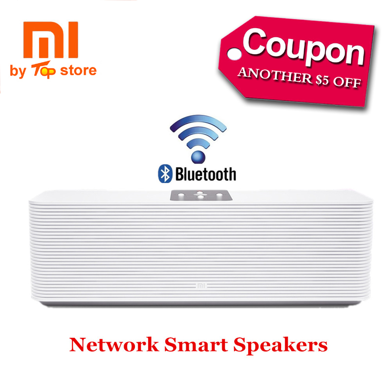 Original Xiaomi Xiomi Mi Wifi Smart Network Speaker Bluetooth Wireless Internet Speakers APP Online Radio Music MP3 Player(China (Mainland))