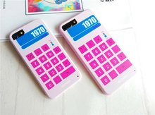 Calculator Printed Soft TPU Skin Mobile Phone Cases For iPhone7 7 Plus  Back Silicone Soft Cover Shell