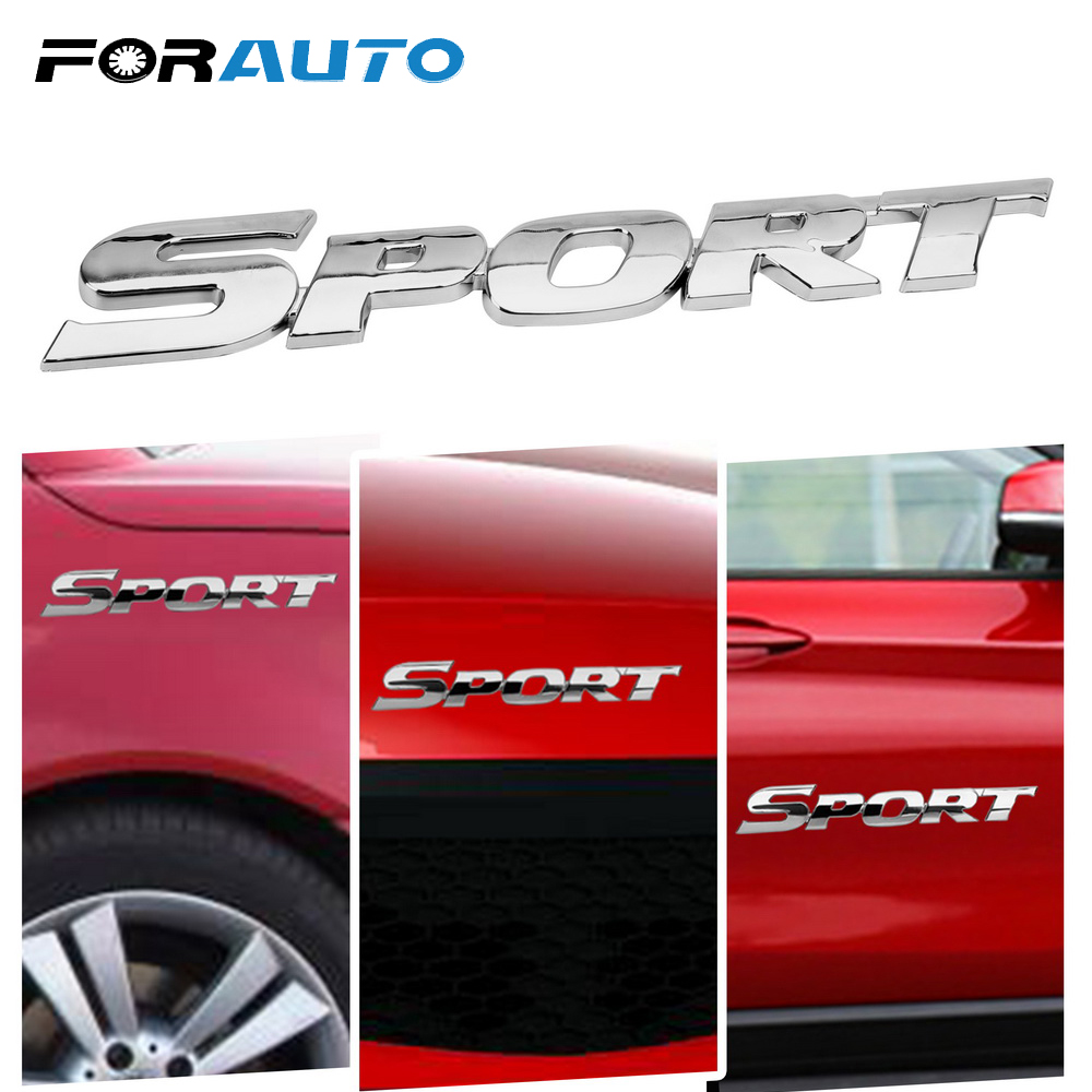 Racing Sponsors FORD sport car sticker emblem logo decal RED Pair