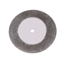 Cutting Discs 10pcs 40mm Diamond grinding circles Dremel Grinder Accessories Rotary Blades Cutting Wheel Slice 2 Mandrels