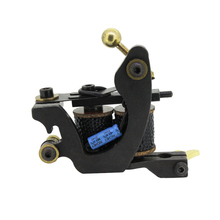 Free Shipping! Hot Professional Handmade Tattoo Machine Retail or Wholesale 10 Wrap Coils Machine 1101125