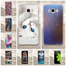 Case for Samsung Galaxy J5 2016 Case Cover 3D Silicone Cat Cover For Samsung J5 2016 Case Cute for Samsung Galaxy J5 2016 Cover(China)