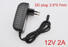 1PCS 12V 2A Charger Power Supply Adapter for Yuan dao N101 II Cube U30GT1 U30GT2 U9GT5 Ainol Hero Chuwi V9 Visture V97 V4 HD(China)