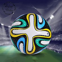 Soccer Seamlessly Matches The Brazil World Cup SIZE5 New Mail Youth Student Competition Soccer PU Football