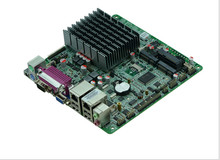 MINI ITX Motherboard with 7*USB/6*COM/VGA/LVDS,J1900 All in one mainboards
