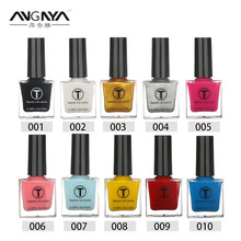 ANGNYA 10ml 20 Colors Optional UV Gel Nail Polish Liquid Stamping Nail Varnish Manicure Lacquer Nail Art Single Bottle