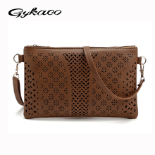 2017 New fashion bags handbags women famous brand designer hollow out messenger bag crossbody women clutch purse bolsa femininas