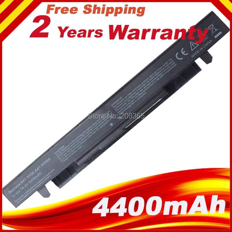 8  Cells Laptop Battery for ASUS A41-X550 A41-X550A A450 A550 F450 F550 F552 K550 P450 P550 R409 X450 X550 X550C X550A X550CA<br><br>Aliexpress
