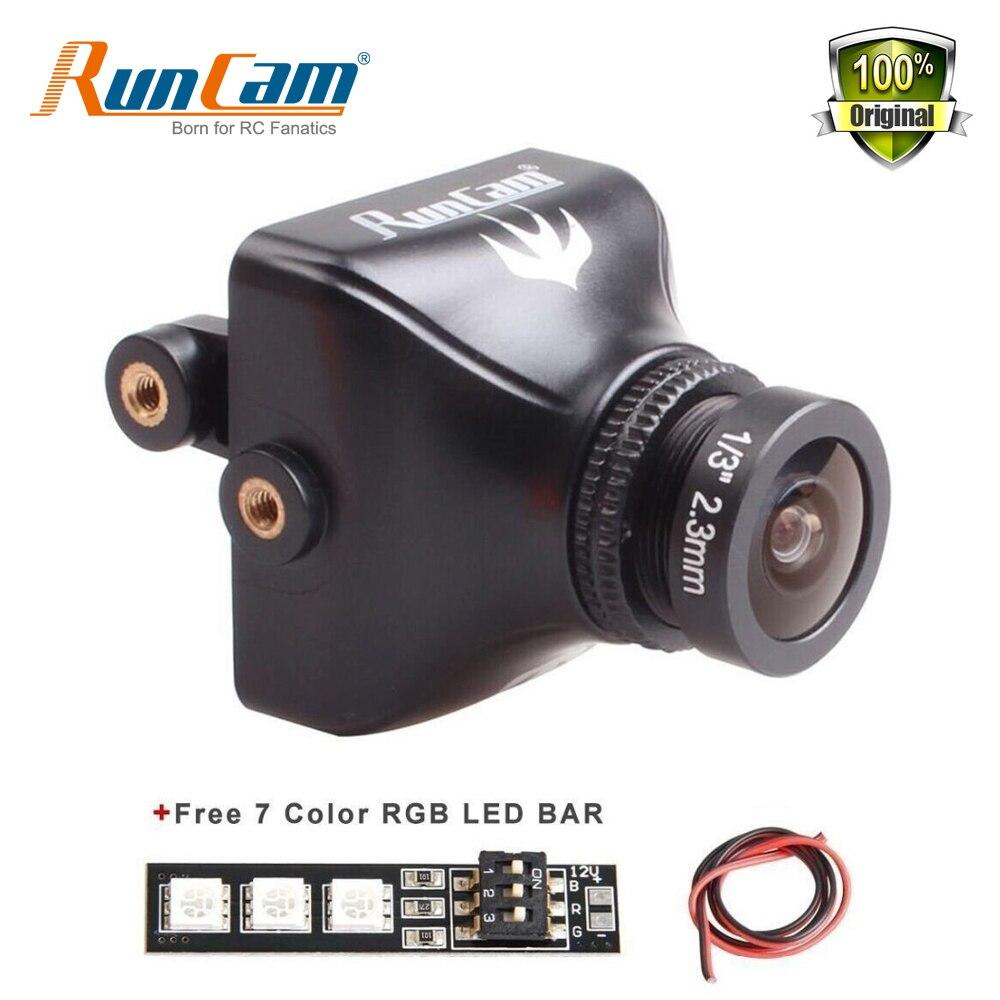 RunCam Swift2 600TVL FPV Camera FOV 150/165 Degree 2.3mm/2.1mm Lens OSD with IR Blocked PAL NTS for RC Quadcopter Racing Drone<br>
