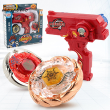 MOMEMO 1set Metal Master Beyblade Metal Fusion 4d Launcher Beyblade for Sale with Two Way Hand Launchers Classic Toys for Boys