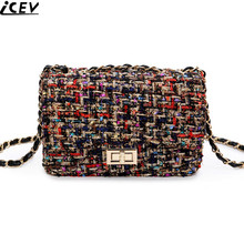 Buy 2018 Fashion Shoulder Handbag Linen Cloth Crossbody Bags Vintage Female Embroidery Messenger Bag Chain Strap Flap Dollar Prices for $17.63 in AliExpress store