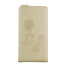 Flip Cases Rose pattern Case for Lenovo A2010 2010a A2010-a Frame Leather Cover Phone for Lenovo A 2010 A2010a 4.5 inches bag
