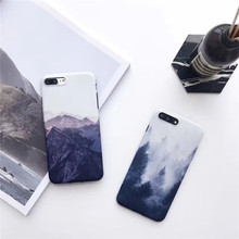 Painting Forest Silicone Cellphone Cases For iPhone6 Protective Shell For iPhone6 Coque Funda For iPhone6plus Mobile Phone Cases