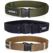 Hot Men Nylon Outdoor Belt Military Equipment Leisure Sport Combat Training Soldier Waistband Military Belts(China)