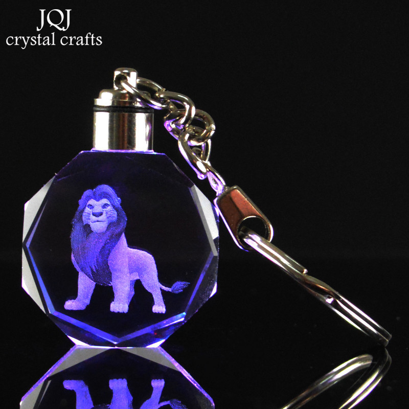 1-Piece-Laser-Engraved-Cartoon-The-Lion-King-Crystal-Miniature-Keychain-With-Changing-Colors-Light-For (1)