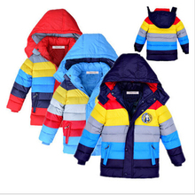 3 colors!!! Minion Jacket Kids Down Jacket For Boy Baby Minion Clothes Winter Down Coat Warm Baby fashion Children Girl Hooded