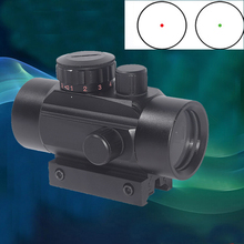 WIPSON Tactical 1X30 Red&Green Dot Scope Holographic Sight for Shot Gun Airsoft 20mm Rail Mount Riflescopes Hunting Optics