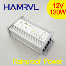 Buy 120w Rainproof Universal power suply ac/dc 12V DC 10A Switching Power Supply 12v unit led Transformer Led Display for $14.99 in AliExpress store