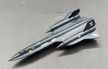 Dragon 1:400 SR-71A Blackbird supersonic strategic reconnaissance aircraft Alloy aircraft model 56222 Collection model Holiday(China)
