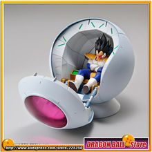 "Japan Anime ""Dragon Ball Z"" Original BANDAI Figure-rise Mechanics Assembly Action Figure - Saiyan's Spaceship Pod Plastic Model"