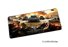 world of tanks mouse pad Mass pattern pad to mouse notbook computer mousepad wot gaming padmouse gamer to keyboard mouse mats(China)