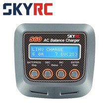 Skyrc S60 mini AC/DC 2-4S Multi Functions Digital Charger for all RC Jets Cars Truck(China)