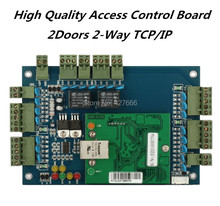 Free shipping Two Door TCP/IP Access Control Board(China)