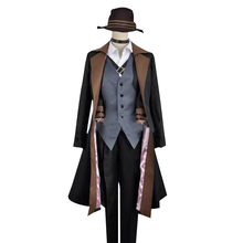 new 2017 fashion hot Animation Bungo Stray Dogs Chuya Nakahara Cosplay Costume Cosplay Suit Perfect Custom for You(China)
