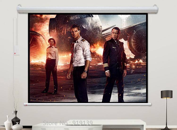 120inch 4x3 Electric Screen pic 8