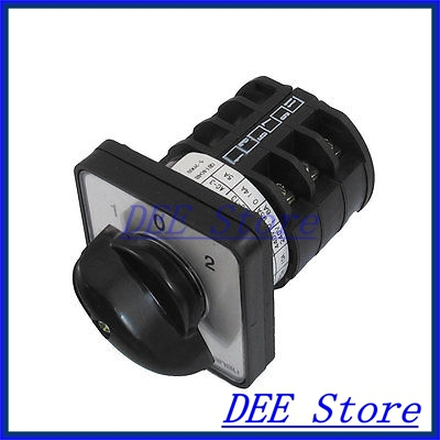 Electric On/Off/On 3 Position Ith 10A Ui 660V Change Over Cam Switch<br><br>Aliexpress