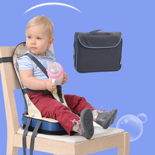 Foldable baby chair Portable Light Weight baby Seat Feeding Toddler seat high quality Safety Belt booster Seat eat Dining Chair(China)