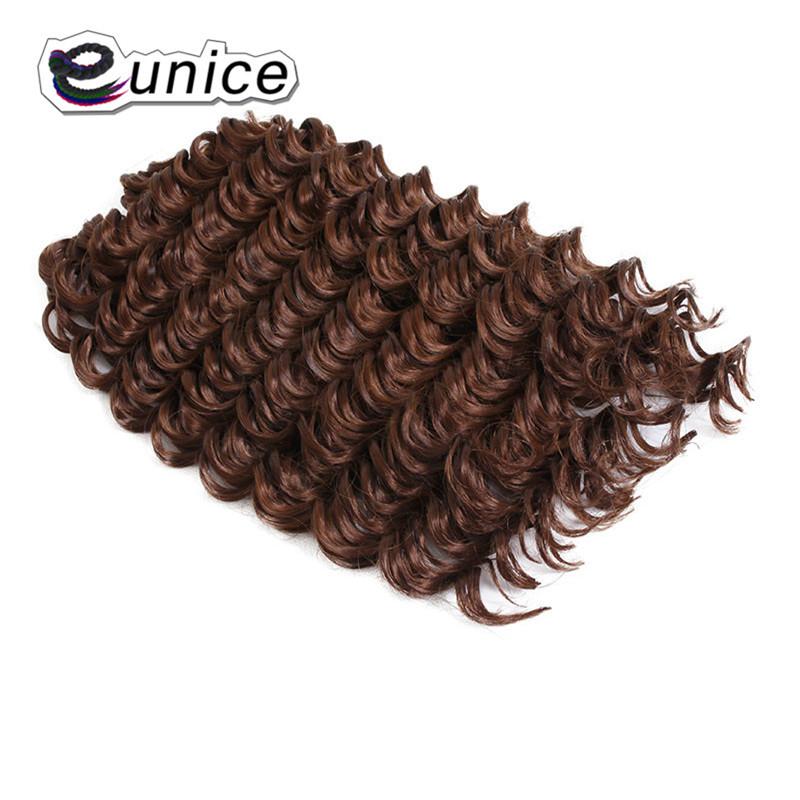 3 Bundleslot Fashion synthetic braiding hair 10inch Freetress Jerry Curl Crochet Braid  (5)