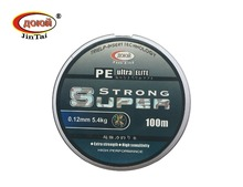 JINTAI FISHING LINE CODE 1201 SUPER STRONG SERIES LENGTH 100M DYNEEMA