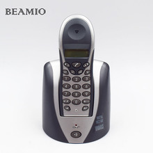 FSK/DTMF Digital Cordless Wireless Phone With Call ID Handfree Store Number Landline Telephone For Office Home