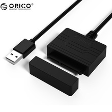 ORICO 27UTS SATA Adapter USB3.0 to SATA Hard Drive Adapter SSD Adapter Cable Converter Super Speed USB 3.0 To SATA 22 Pin(China)